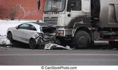 camion, fracas