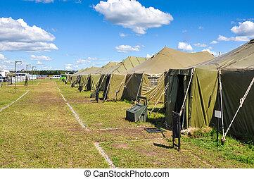 camp, armée