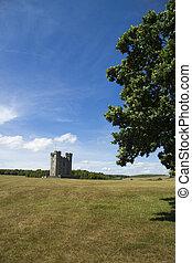 campagne, château