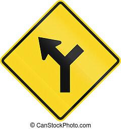 canada, intersection, devant