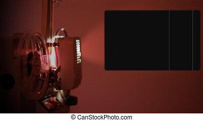 canal, alpha, bobine, projecteur