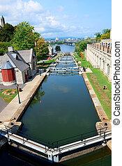canal, rideau, ottawa