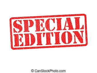 caoutchouc, édition, spécial, timbre