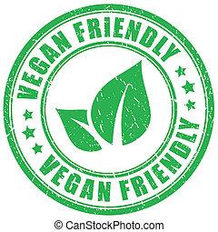 caoutchouc, amical, timbre, vegan