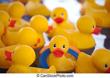 caoutchouc, duckies, carnaval