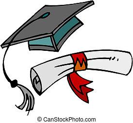 cap., diplôme, remise de diplomes