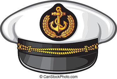capitaine, chapeau