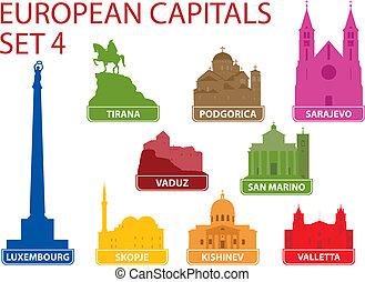 capitaux, européen