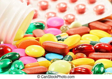 capsules, diététique, drogue, composition, supplément, pilules