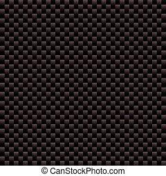 carbone, fibre, tissé, texture