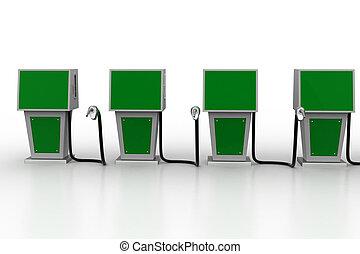 carburant, bio, station