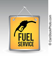 carburant, icône