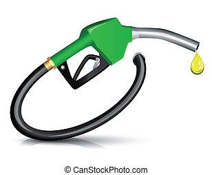 carburant, lance, essence