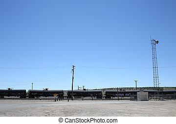 carburant, train