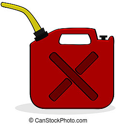 carburant, urgence, fourniture