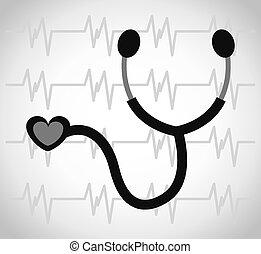 cardiologie, concept