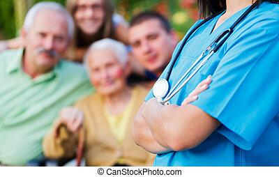 caregiver, famille