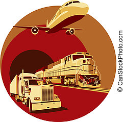 cargaison, transport