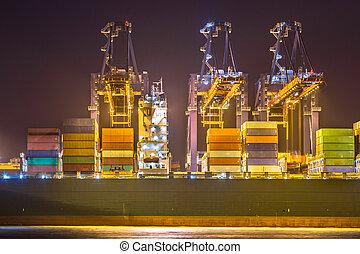 cargo, porteur, nuit