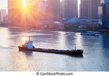 cargo, shanghai, voile