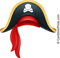 caribbean., carnaval, costume., corsaire, hat., headgear., pirate