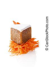 carotte, cake.