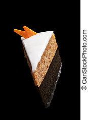 carotte, délicieux, cake.