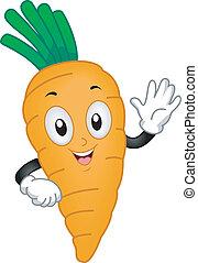 carotte, mascotte