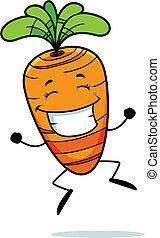 carotte, sauter