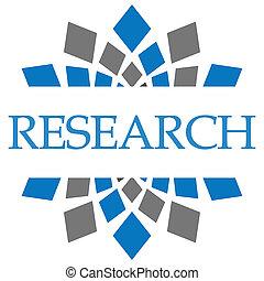 carré bleu, gris, recherche, élément