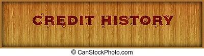 carrée, arrière-plan., texte, histoire, crédit, bois, vendange, police, panneau
