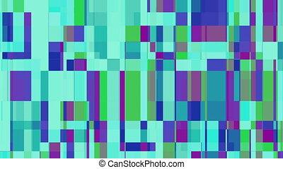 carrés, résumé, couleur, mouvement, fond