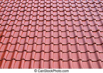 carreau, métal, toit
