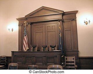 carson ville, tribunal