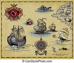 carte antique
