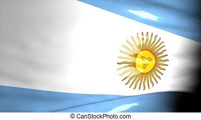 carte, argentine, crise