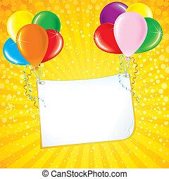 carte, célébration