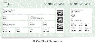carte embarquement