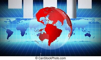 carte, globe mondial