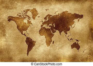 carte, mondiale