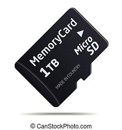 carte, sd, micro, mémoire