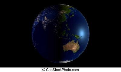 carte, tout, continents, mondiale, earth/, 3d