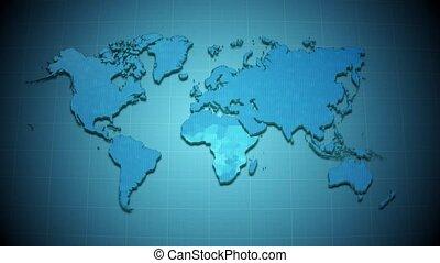 carte, zoom, européen