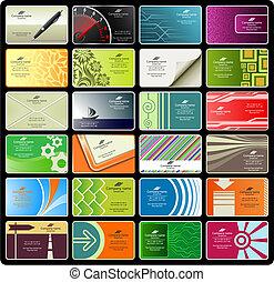 cartes, 8), (set, business
