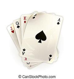 cartes, jouer