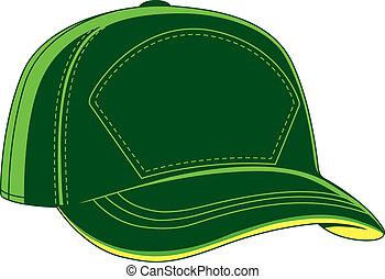 casquette baseball, vert