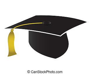 casquette, remise de diplomes