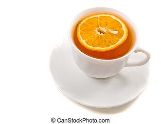 casquette, thé