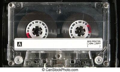 cassette sonore, jouer