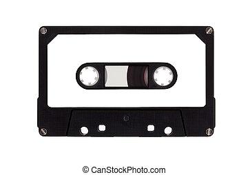 cassette, unique, bande